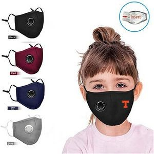 Kids Reusable Face Mask with Valve